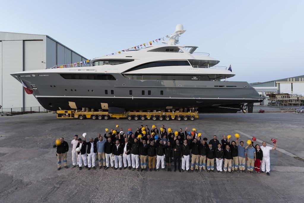 SARP 46 launched at Sarp Yachts - Photos by Hakan Yesil