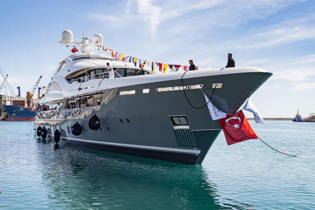 SARP 46 yacht at launch - Photos by Hakan Yesil