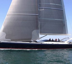 Vismara V80 Sailing Yacht Now Available for Mediterranean Charter in Italy and French Riviera