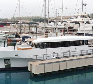 26m Luxury Yacht WALLY CASA Splashes On The Water at Wally in Italy