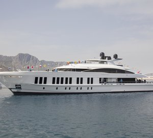 60m Luxury Superyacht SAMURAI Hits Water at Alia Yachts in Turkey