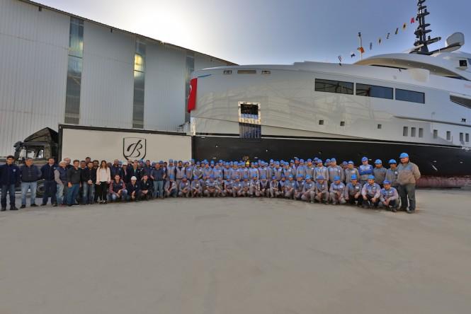 Bilgin 155 GIAOLA-LU Launch - The Team