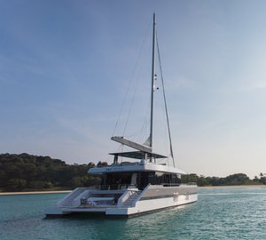 Brand-New SUNREEF Catamaran Yacht EAGLE WINGS Unveiled