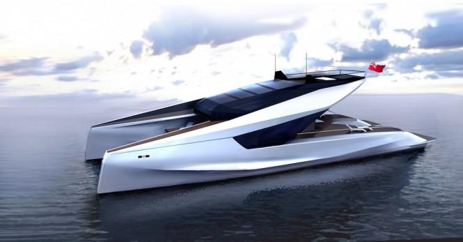 JFA Yachts - 115 Power Catamaran Concept