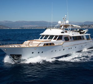 Sicily Yacht Charter: 30m Benetti Classic LIBERTUS Offers Reduced Delivery Fees