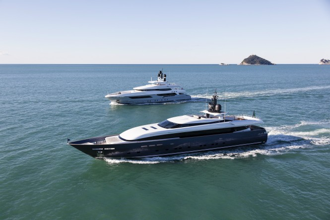 Motor Yachts Only One and Pachamama