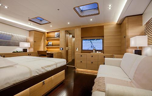 SHAMANNA - master cabin
