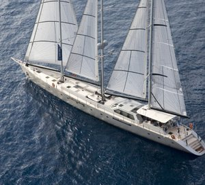 42m Sailing Yacht YAMAKAY Available for Luxury Charter in The Med