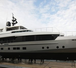 38M Superyacht TREMENDA by Admiral Hits Water in Italy