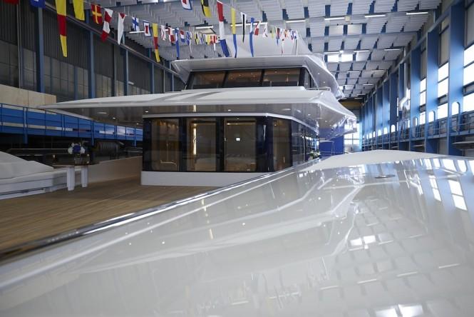 Feadship launch motor yacht JOY