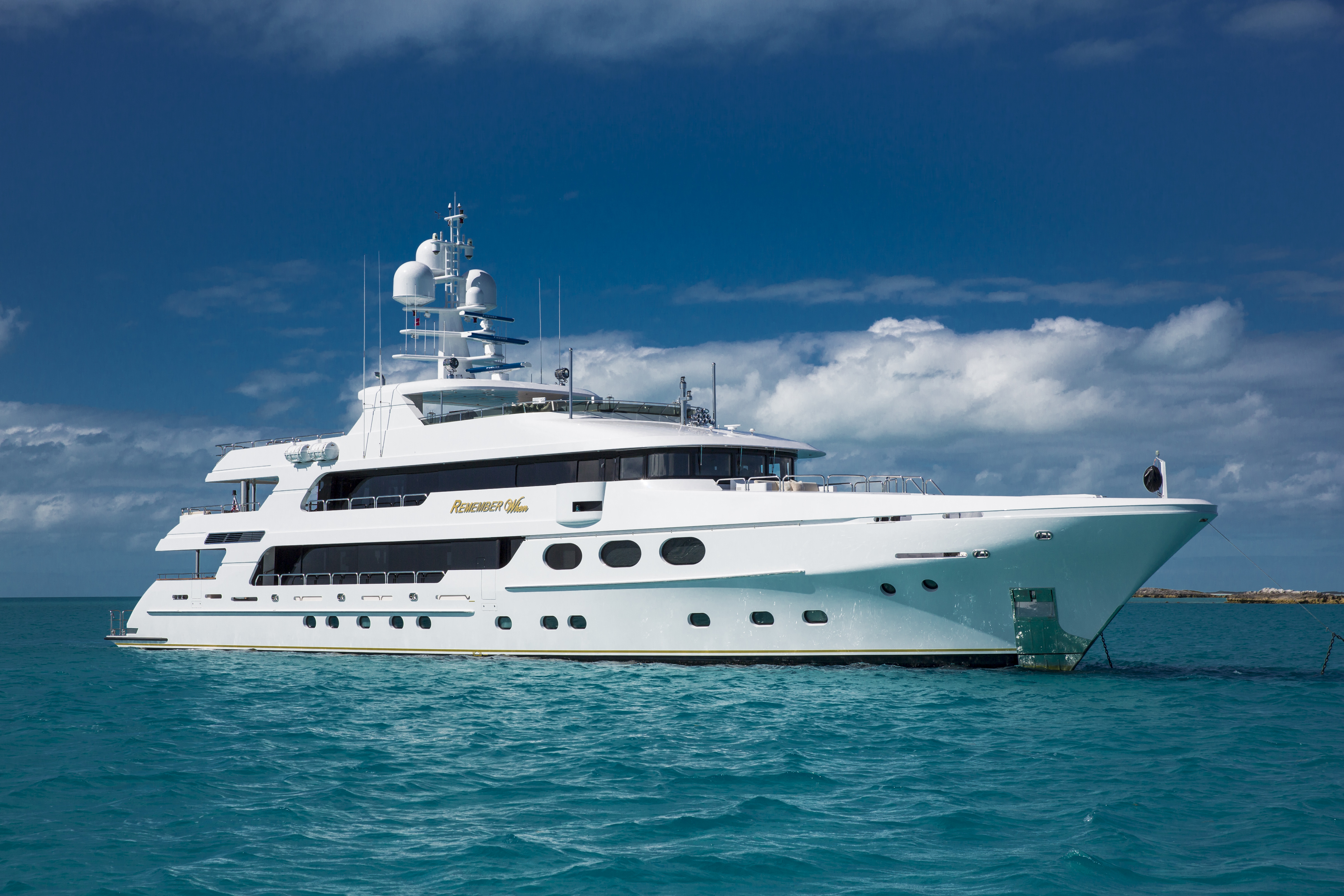 Luxury Charter Yacht REMEMBER WHEN