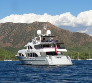 37M Benetti Classic Superyacht QUEST R Summer Charter Special in Greece, Turkey, Italy or France
