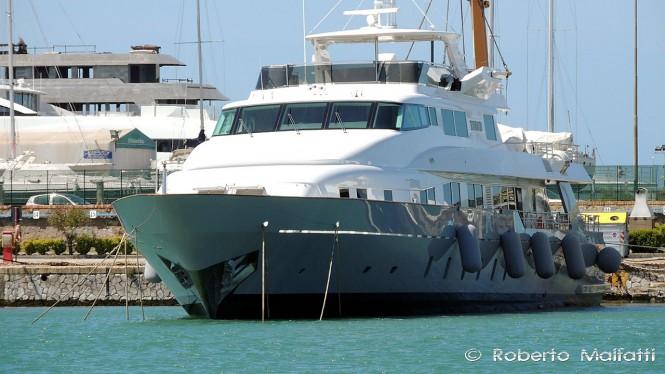 RIMA II - a Benetti Yacht - Photo by ROberto Malfatti