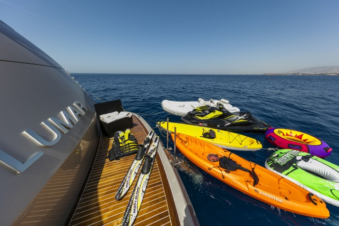 Superyacht Toys for Unlimited fun with superyacht LUMAR