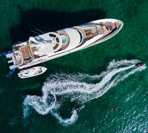 Enjoy The Bahamas this June aboard Westport 131 Motor Yacht 'W' At a Special Rate