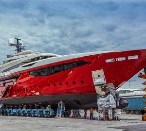 50m superyacht Ipanema launched by Mondomarine