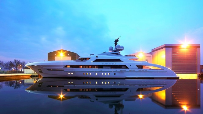 Heesen Yachts - GALACTICA STAR, launched May 2015