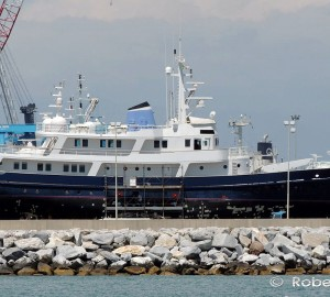 43m Motor Yacht ICE LADY (ex Ice Lady Patagonia) Seen in Italy