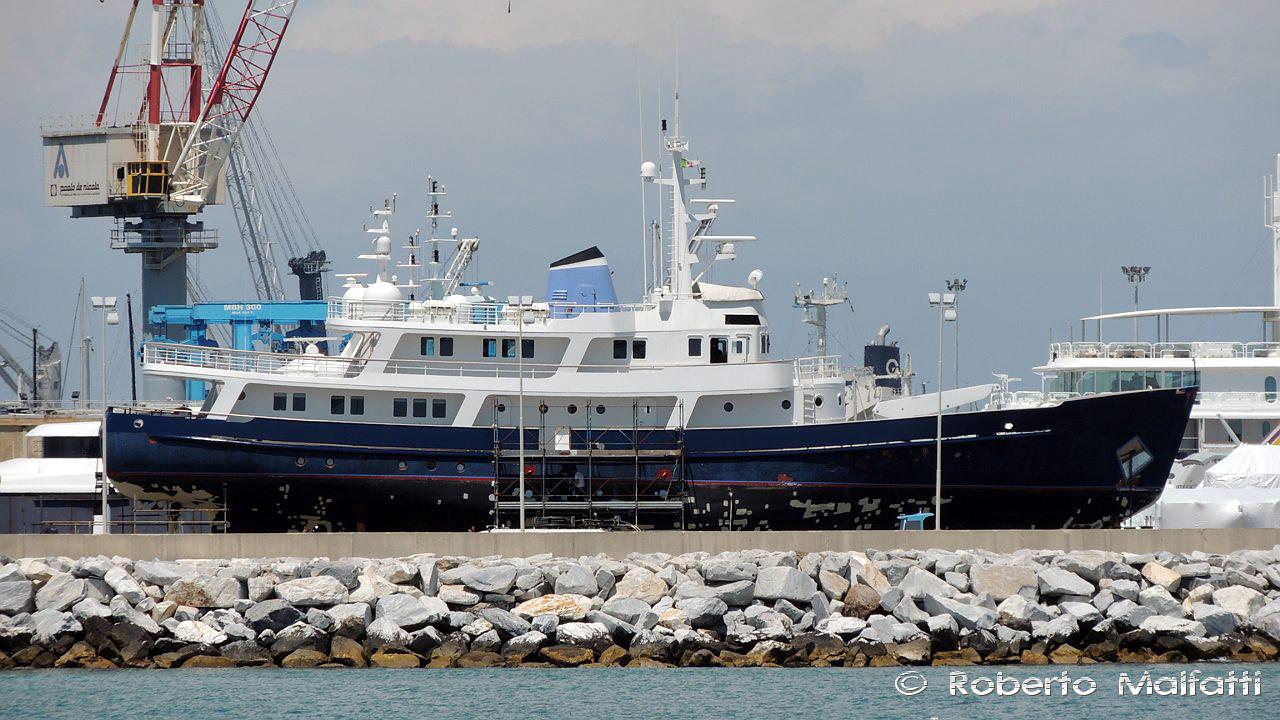 Ice Lady Expedition Yacht Photo Roberto Malfatti