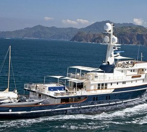 Charter expedition yacht Seawolf this summer