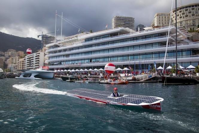 The Monaco Solar Boat Challenge 2016