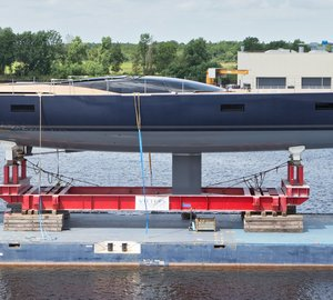 Exciting 33m Sailing Yacht MISSY Launched by Vitters