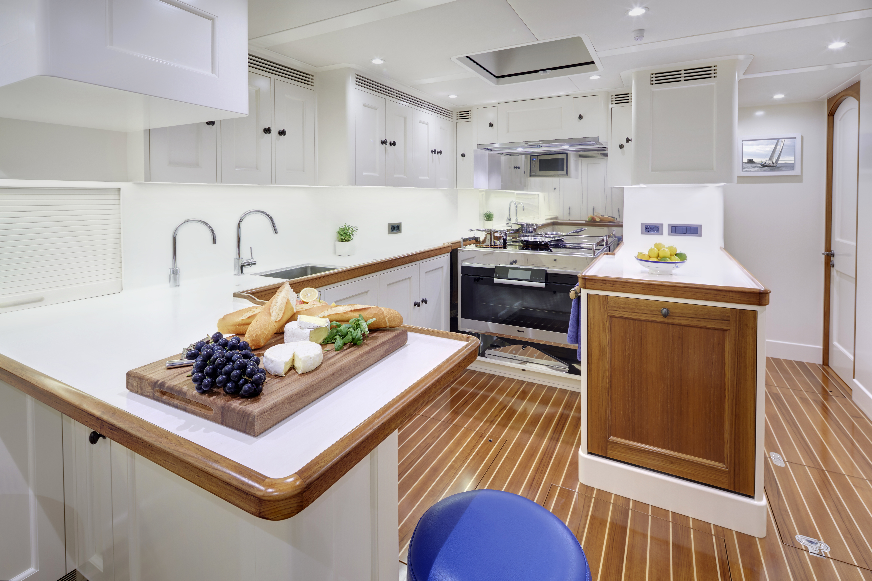 Sailing yacht CYGNUS MONTANUS - Galley