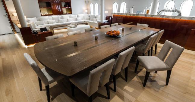 Luxury yacht ENIGMA XK - Main salon