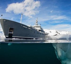 Expedition yacht Enigma XK ready for charter