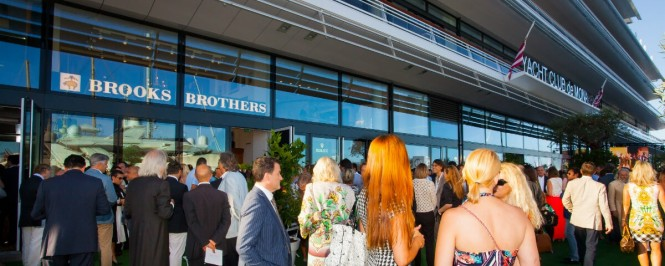 Brooks Brothers, America's oldest apparel brand, in cooperation with the Ferretti Group, a world leader in the design, construction and sale of motor yachts and pleasure vessels, hosted a cocktail reception at the Brooks Brothers Monaco retail location at the prestigious Yacht Club de Monaco in Monte Carlo