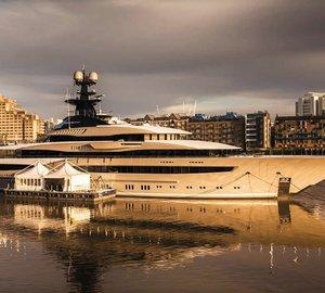 Exceptional superyacht Kismet available in Mediterranean