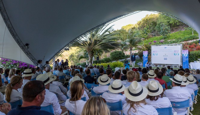 The Rolex Swan Cup Prizegiving ceremony