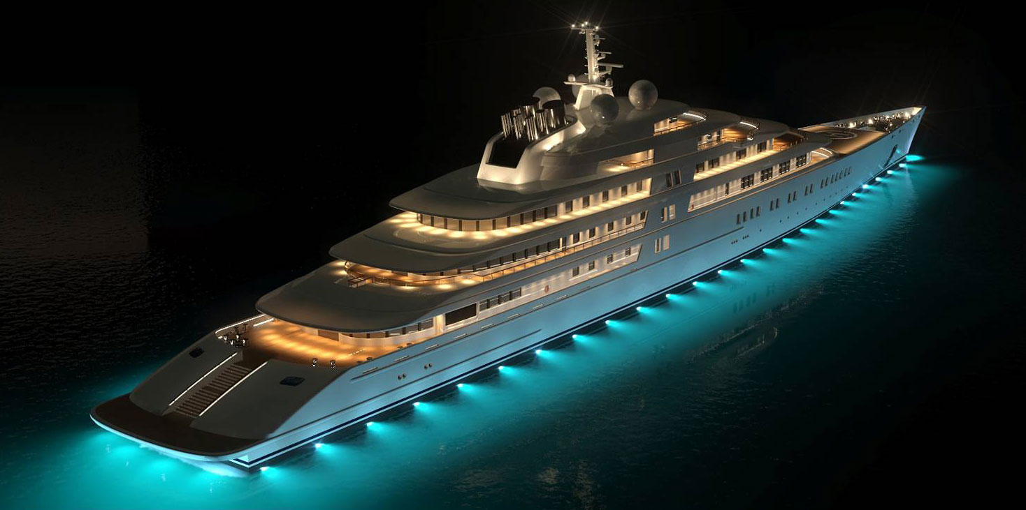 The Yacht Eclipse By Night Yacht Charter Superyacht News
