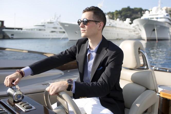 Riva Yacht Brooks Brothers - Luxury Fashion Monte Carlo - Helm