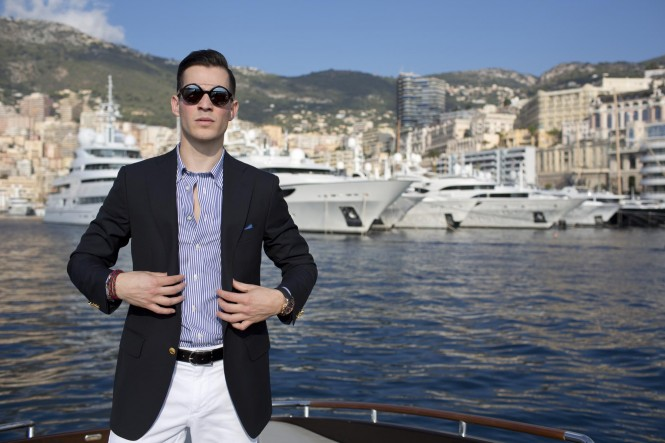 Riva Yacht Brooks Brothers - Luxury Fashion Monte Carlo - Harbour
