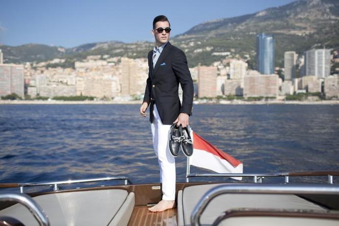 Riva Yacht Brooks Brothers - Luxury Fashion Monte Carlo -