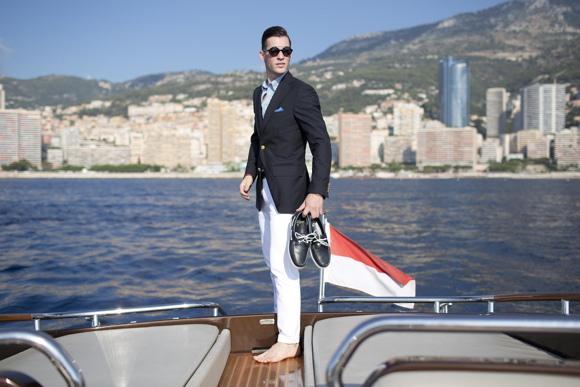 Riva Yacht Brooks Brothers Luxury Fashion Monte Carlo