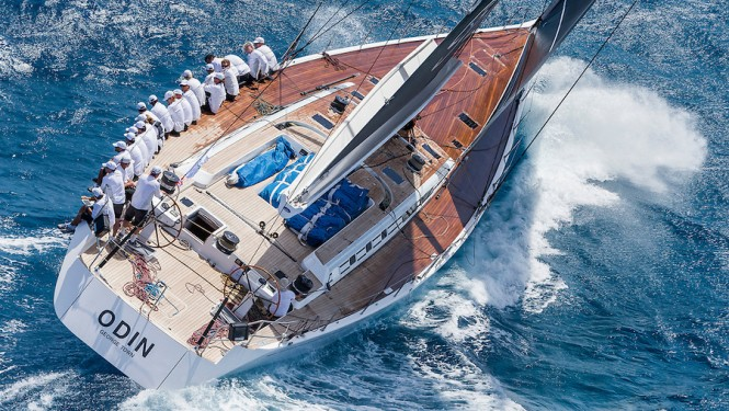Yacht ODIN at the Rolex Swan Cup Caribbean