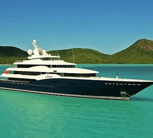 Stunning superyacht Amaryllis available for charter