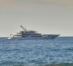 Superyacht JOY on Maiden Yacht Charter