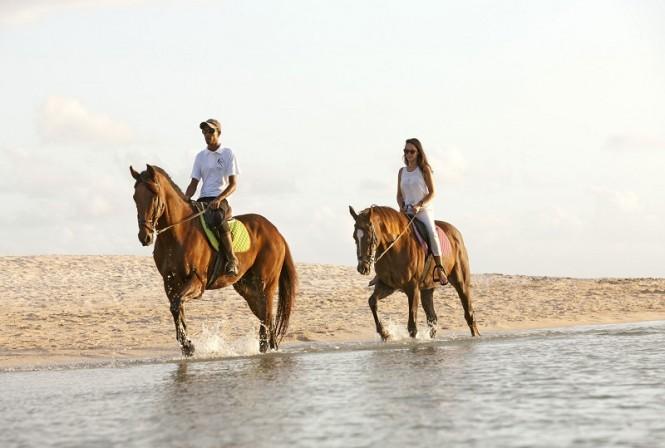 Horseriding - Image credit to Tourism Mauritius