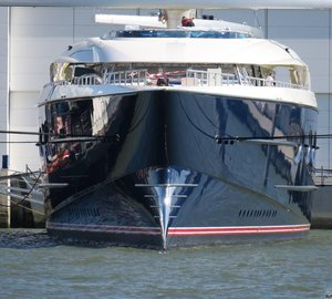 Drone Video of Brand New Largest Sailing Yacht in the World