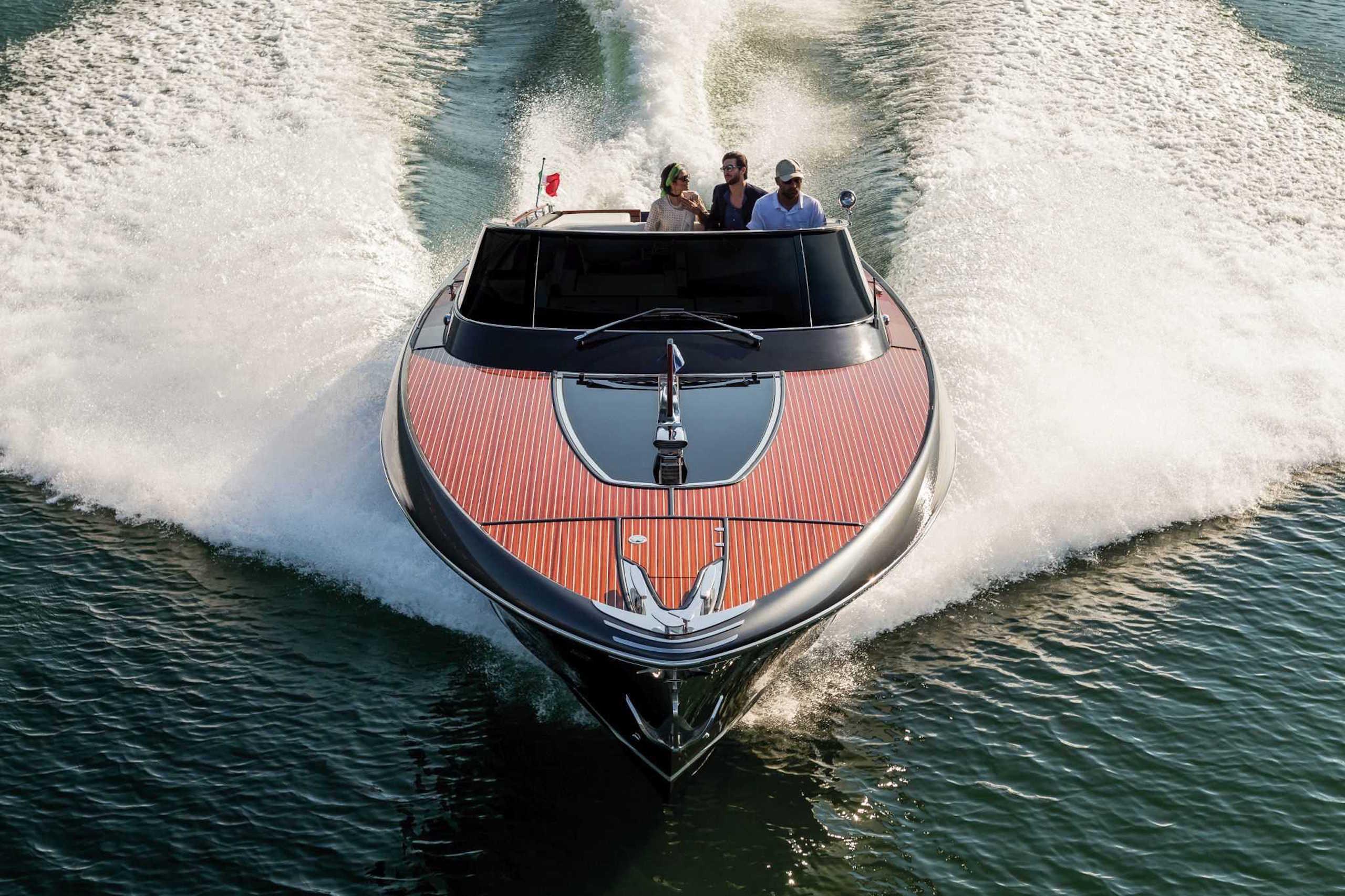 Riva Rivamare New at FLIBS — Yacht Charter & Superyacht News