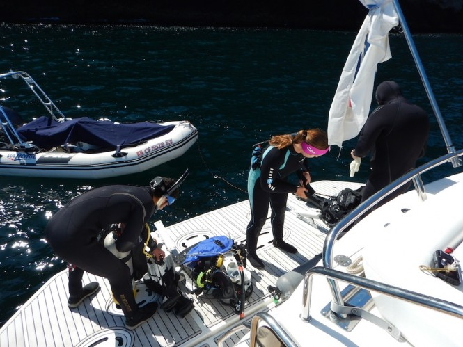 eDNA Research with UCLA aboard the D/Y Valkyrie in the Channel Islands, California