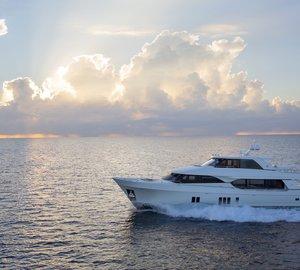 Superyacht in Focus: Ocean Alexander 100'