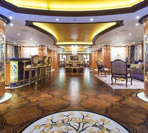 Top 10 Amazing Interior Design on Luxury Charter Superyachts