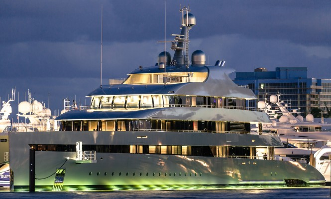M/Y Savannah at the FLIBS2016