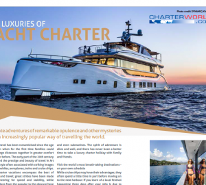 CharterWorld in the Media: Family Office Elite Magazine - The Luxuries of Yacht Charter