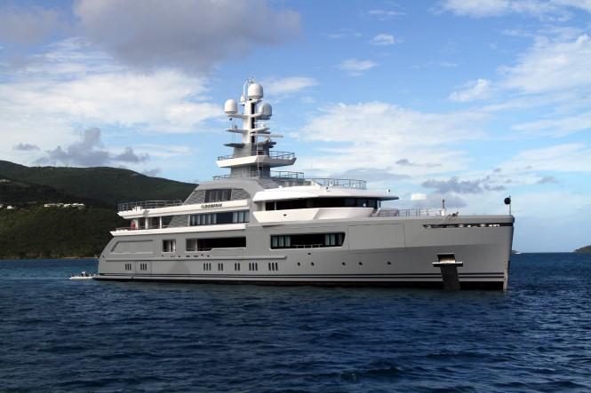 Superyacht Cloudbreak. Photo credit Anoldent