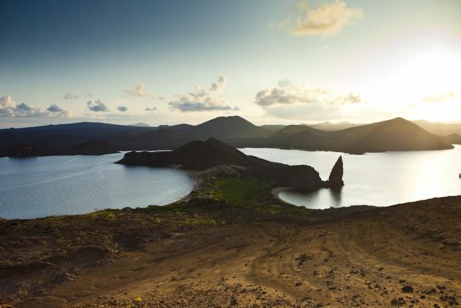 East - Bartolome Pinnacle Rock - Photo Weston Walker-Knoblich